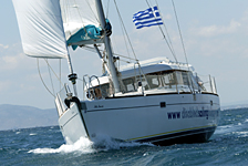 Dufour43 Atoll Solis Invictis, an accessible sailing boat